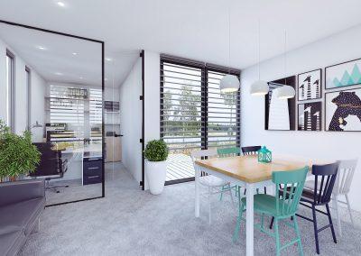 F30 Office - Living room